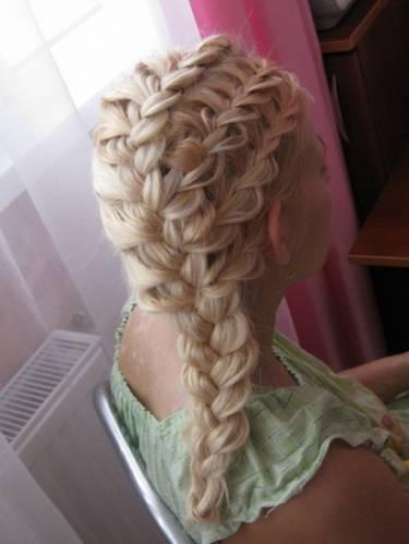плетение кос видеоуроки уроки