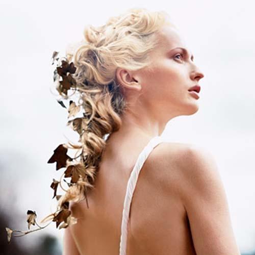 Вечерние прически средних волос фото