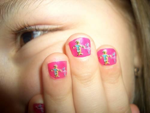 Как сделать ногти для детей